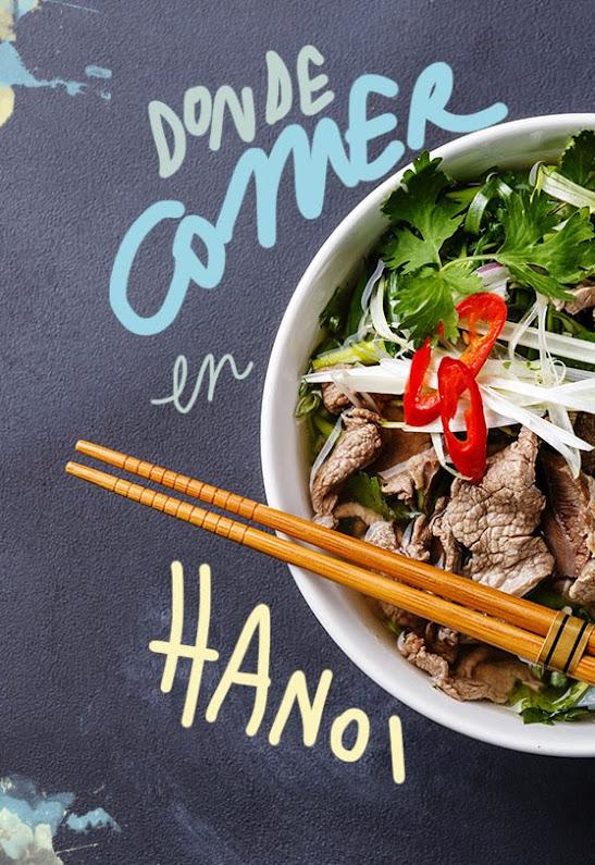 Restaurantes donde comer en Hanoi