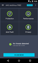 AVG AntiVirus FREE for Android Screenshot 1