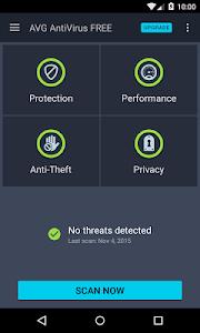 AVG AntiVirus FREE for Android v5.1.3.1