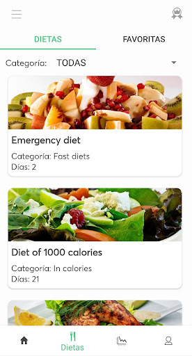 Diets for losing weight screenshots 2