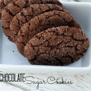 Soft Chocolate Sugar Cookies Recipe