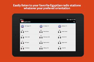 Screenshot of Egyptian Radio
