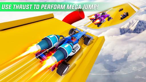 Formula Jet Car Stunt Games u2013 Mega Ramp Stunts screenshots 3
