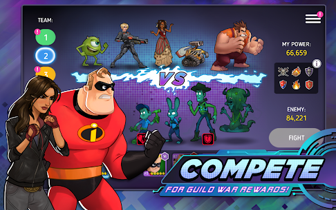 Disney Heroes Battle Mode Mod Apk 2.5 (Unlimited Freeze) 6