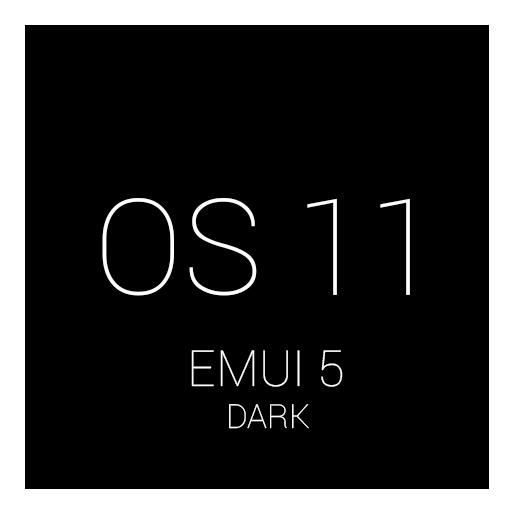 Dark OS11 EMUI 5 THEME