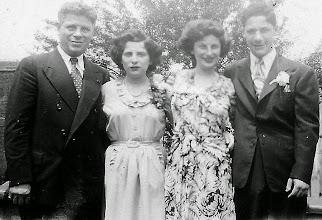 Photo: Harry, Helene, Mildred, and Stanley Tulman