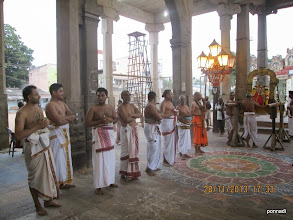 Photo: puRappAdu sARRumuRai and thirvandhik kAppu