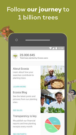 Ecosia screenshot 4