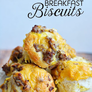 Refrigerator Biscuit Breakfast Recipes