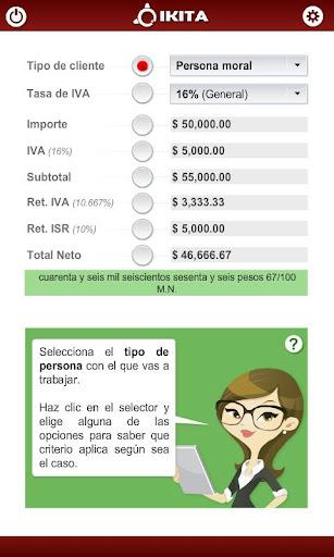 Recibo honorarios México Pro