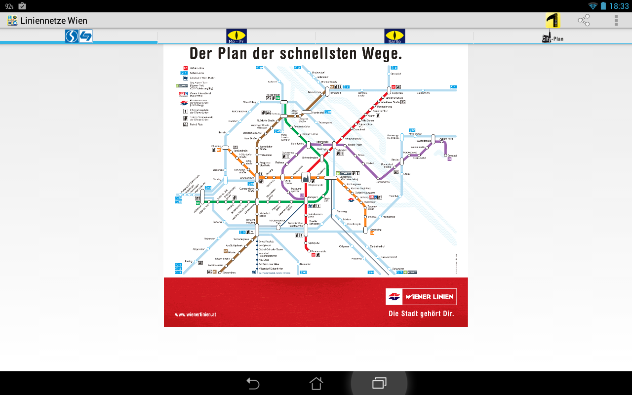 LineNetwork Vienna- screenshot