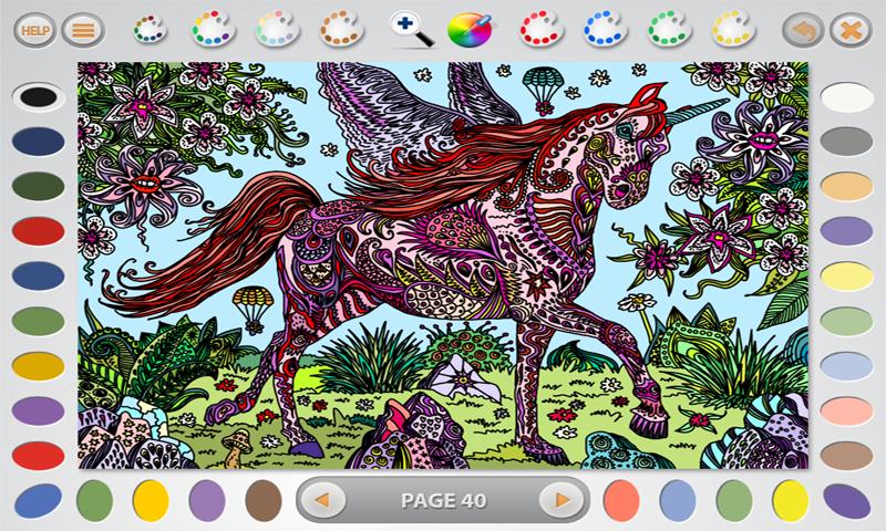 Intricate Coloring 3: Wonder- screenshot