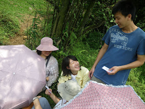 Photo: 金鴻正在說明他們挑選裝備的理由