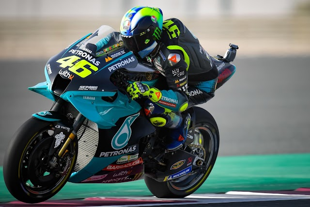 Mala posición la conseguida por Valentino Rossi