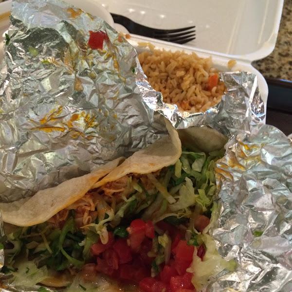 Chicken taco!