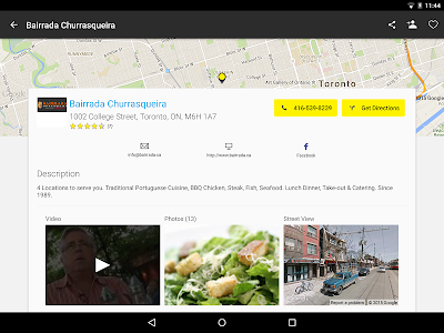 YP Yellow Pages Canada screenshot 8