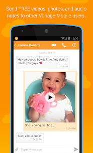 Vonage Mobile® Call Video Text 7