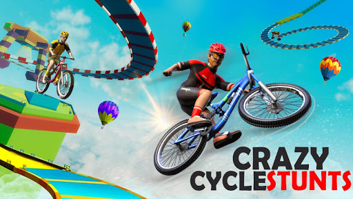 BMX Bicycle Racing Stunts- Mega Ramp Cycle Games 2.3 screenshots 5