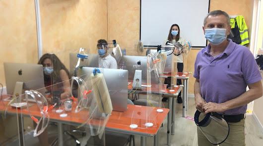 EISO retoma sus clases de forma presencial en Almería con total éxito