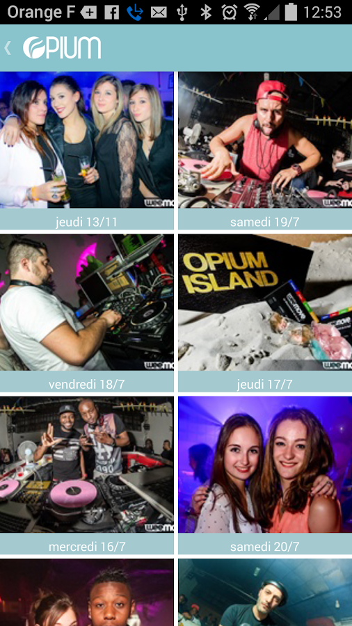Opium Club- screenshot