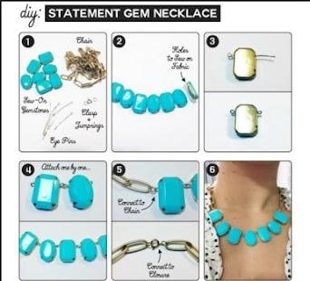 Pohodě DIY náhrdelník - náhled