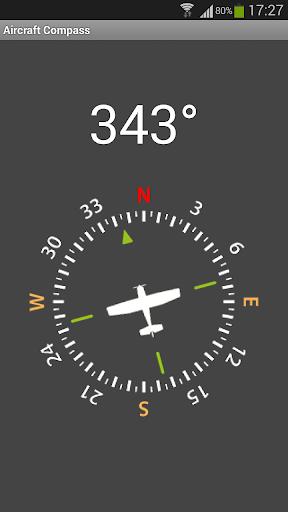 Aircraft Compass Free 1.2 screenshots 1