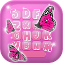 Color Butterfly Image Keyboard icon