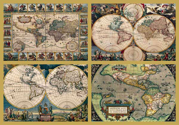 Sex drugs and jigsaw puzzles 4 ancient world maps 18000pcs gumiabroncs Choice Image
