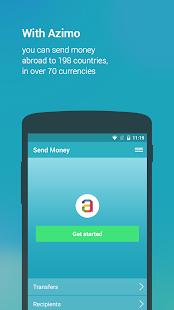 Azimo Money Transfer - screenshot thumbnail