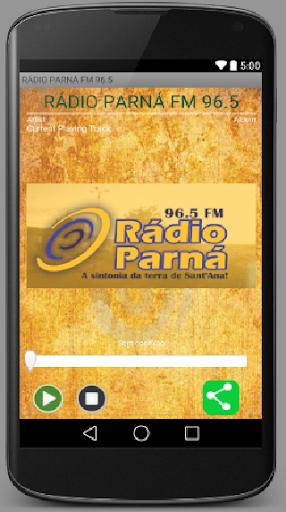RÁDIO PARNÁ FM 96.5