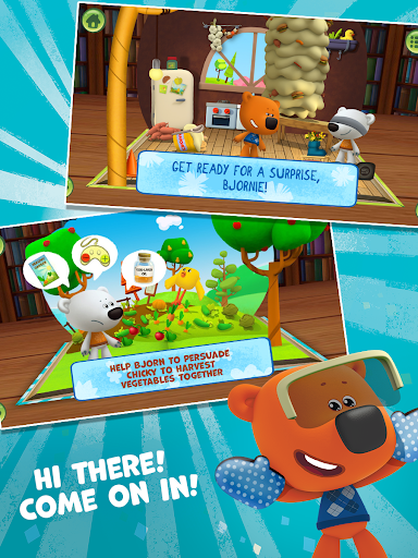 Bebebears: Interactive Books and Games for kids  screenshots 4