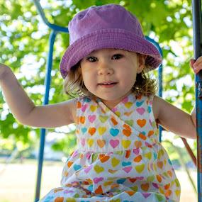 Sabrina at 21 months by Jordan Crick - Babies & Children Children Candids ( time, season, canada, location, camera, summer, fuji x100t, public, bc, vancouver, KidsOfSummer )