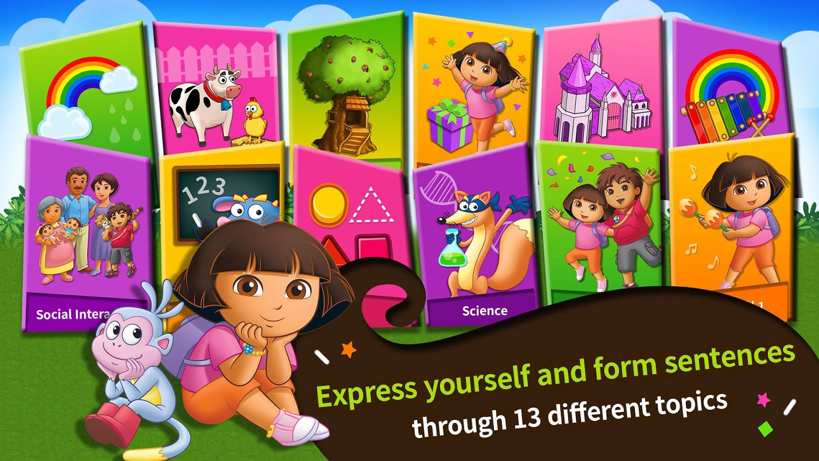 learn with dora level 2 android apps on google play