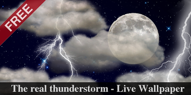 The real thunderstorm - LWP- screenshot thumbnail