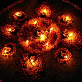 by Pratik Nandy - Abstract Fire & Fireworks