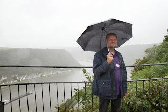 Photo: Det var regnfuldt oppe på Lorelei