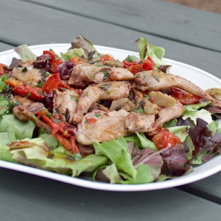 Quail & Roasted Tomato Salad