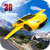 Flying Helicopter Car Mania 3D