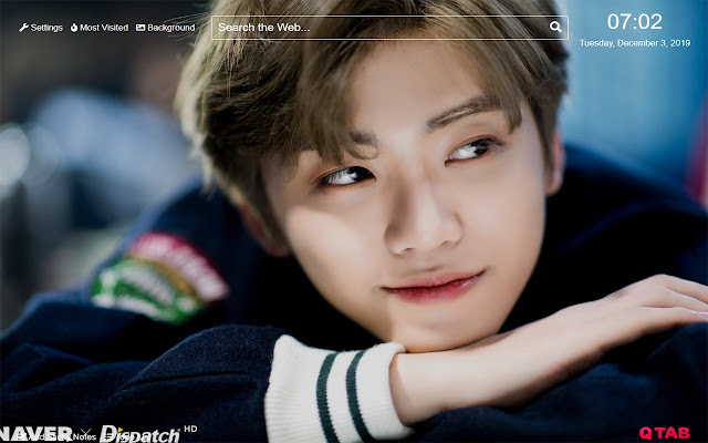 Jaemin nct Wallpaper for New Tab