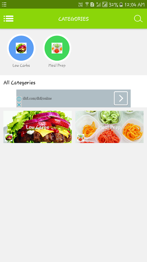 Health Diet Recipe and Cooking- screenshot