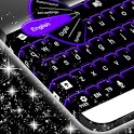 Keyboard Color Neon Purple icon