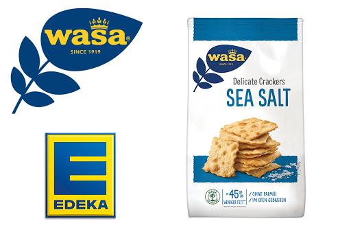 Bild für Cashback-Angebot: Wasa Delicate Crackers Sea Salt bei EDEKA - Wasa