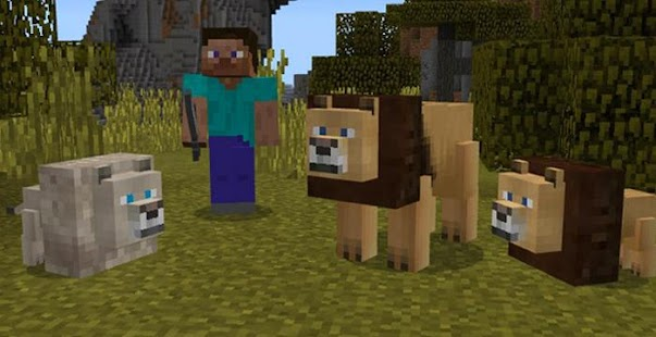 Lions Mod for Minecraft PE - náhled