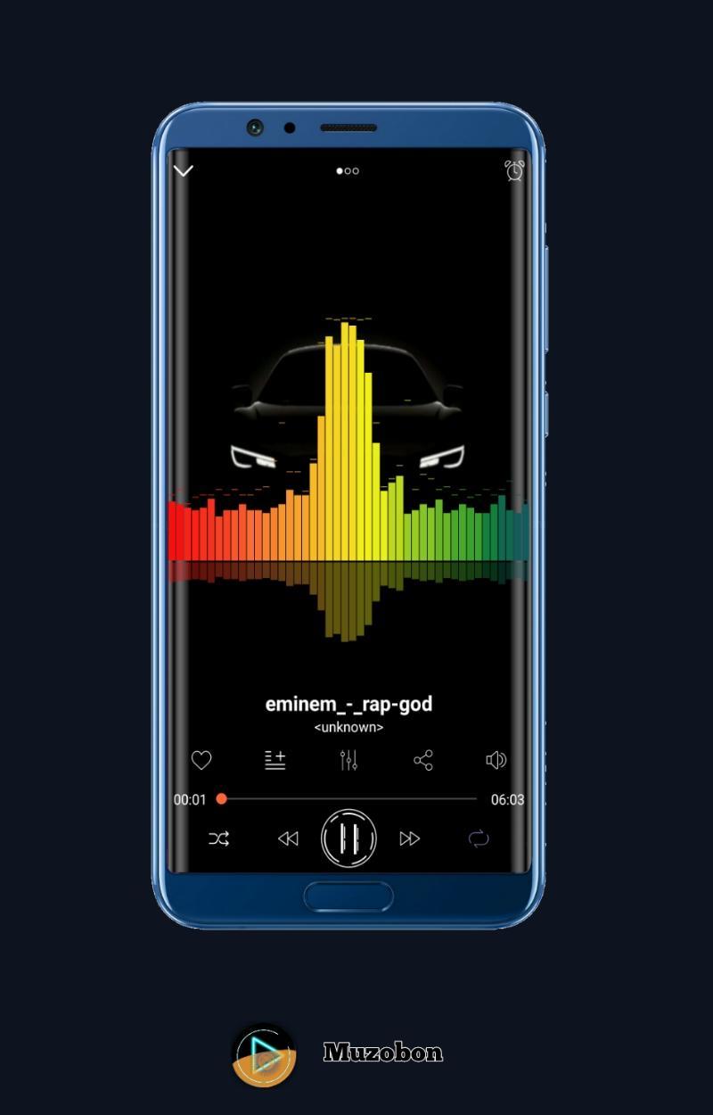 Music player Muzobon Pro Screenshot 6