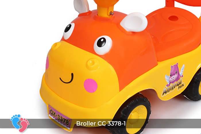 Xe chòi chân có nhạc Broller CC-3378-1 19