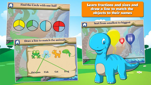 Dino 1st Grade Learning Games screenshots 8