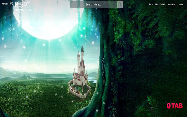 Fairy Tale Wallpapers HD Theme