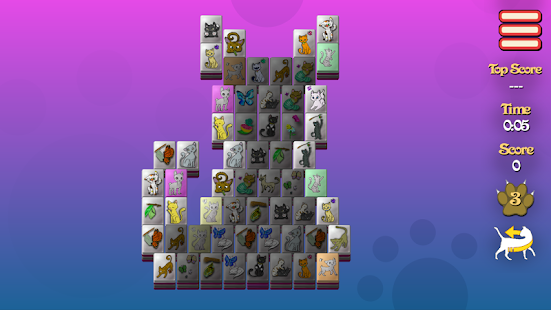 Meow-Jong Solitaire- screenshot thumbnail
