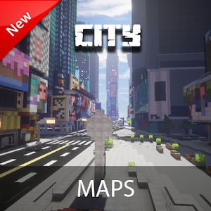 City Maps For Minecraft PE Latest Apk Download For Android - Minecraft maps fur android