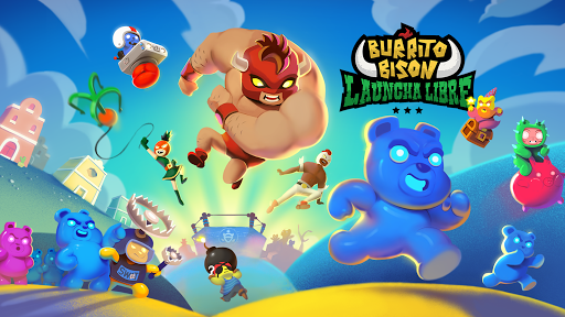 Burrito Bison: Launcha Libre APK MOD screenshots hack proof 1